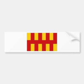 United Kingdom Northumberland Flag Bumper Sticker