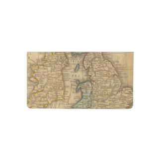 United Kingdom of England, Scotland and Ireland Checkbook Cover
