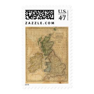 United Kingdom of England, Scotland and Ireland Postage Stamp