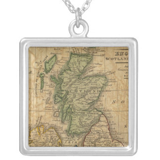 United Kingdom of England, Scotland and Ireland Silver Plated Necklace