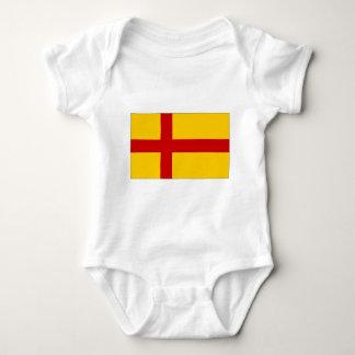 United Kingdom Orkney Islands Flag Baby Bodysuit