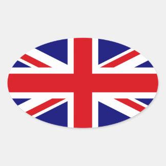 UNITED KINGDOM OVAL STICKER