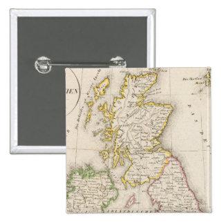 United Kingdom Pinback Button