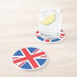 United Kingdom Plain Flag Coaster