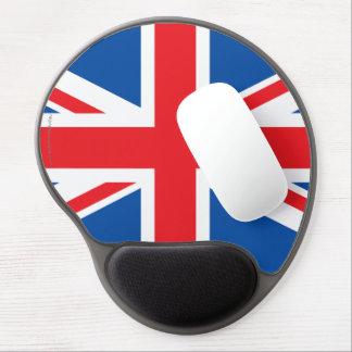United Kingdom Plain Flag Gel Mouse Mat