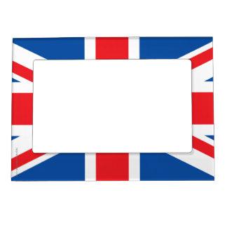 United Kingdom Plain Flag Magnetic Picture Frame