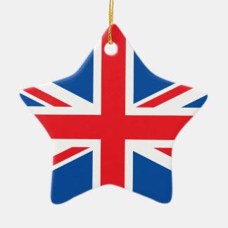 United Kingdom Plain Flag Ornaments