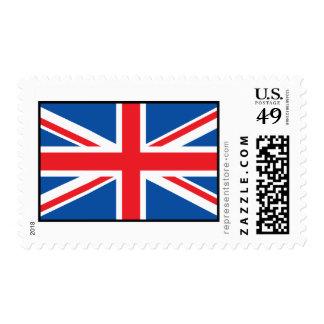United Kingdom Plain Flag Stamp