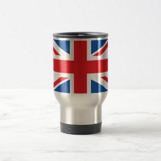 United Kingdom Plain Flag Travel Mug