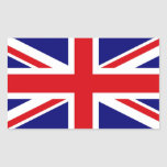 UNITED KINGDOM RECTANGULAR STICKER