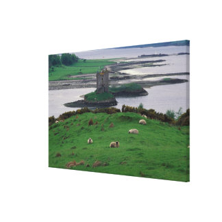 United Kingdom, Scotland, Isle of Skye, old Gallery Wrapped Canvas