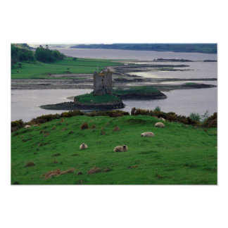 United Kingdom, Scotland, Isle of Skye, old Print