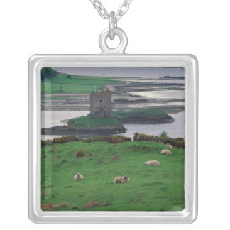 United Kingdom, Scotland, Isle of Skye, old Silver Plated Necklace
