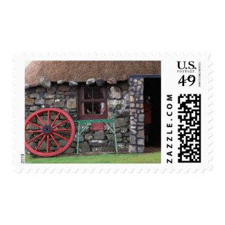 United Kingdom, Scotland, Isle of Skye, stone Postage