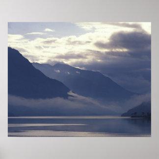 United Kingdom, Scotland. Loch Duich Poster