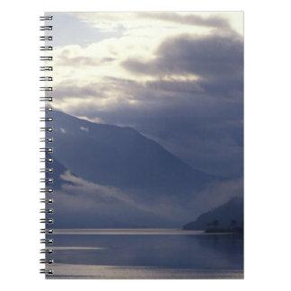 United Kingdom, Scotland. Loch Duich Spiral Notebook