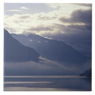 United Kingdom, Scotland. Loch Duich Tile