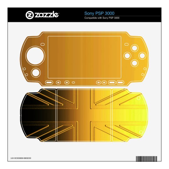 UNITED KINGDOM SKINS FOR PSP 3000
