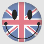 United Kingdom Smiley Stickers