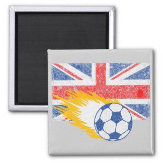 United Kingdom Soccer Magnet