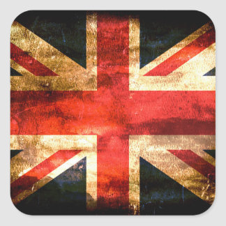 United Kingdom Square Sticker