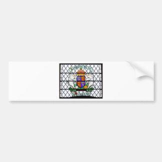 UNITED KINGDOM STAINED GLASS RICHARD III BUMPER STICKER