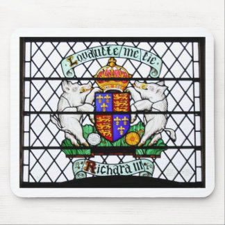 UNITED KINGDOM STAINED GLASS RICHARD III MOUSE PAD