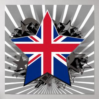 United Kingdom Star Posters