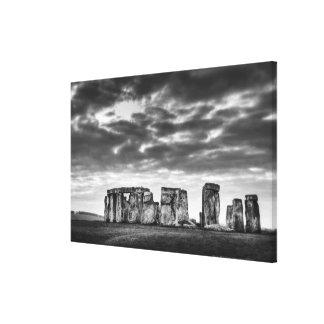 United Kingdom, Stonehenge 10 Canvas Print