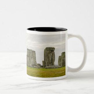 United Kingdom, Stonehenge 10 Two-Tone Coffee Mug