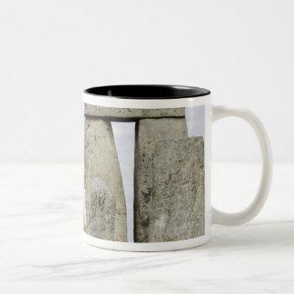 United Kingdom, Stonehenge 12 Two-Tone Coffee Mug