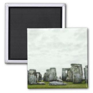 United Kingdom, Stonehenge 14 Refrigerator Magnet
