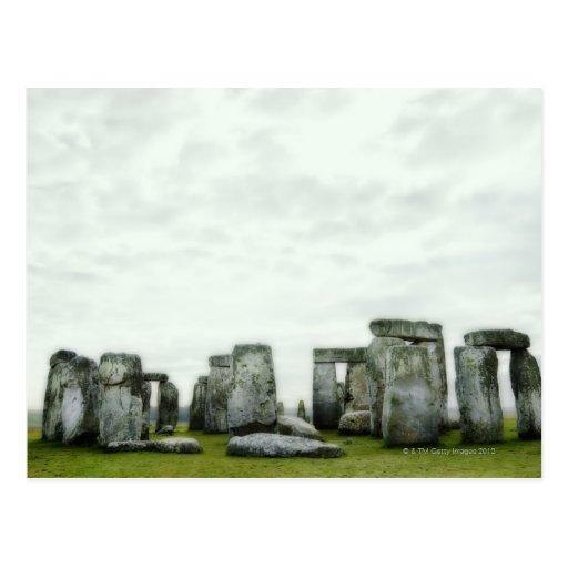 United Kingdom, Stonehenge 14 Postcard