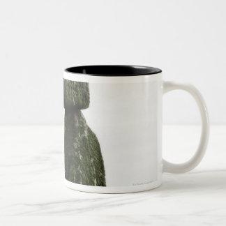 United Kingdom, Stonehenge 15 Two-Tone Coffee Mug