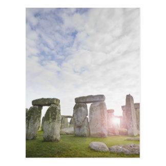 United Kingdom, Stonehenge 2 Postcard