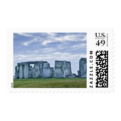 United Kingdom, Stonehenge 3 Stamp