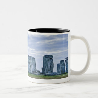 United Kingdom, Stonehenge 3 Two-Tone Coffee Mug