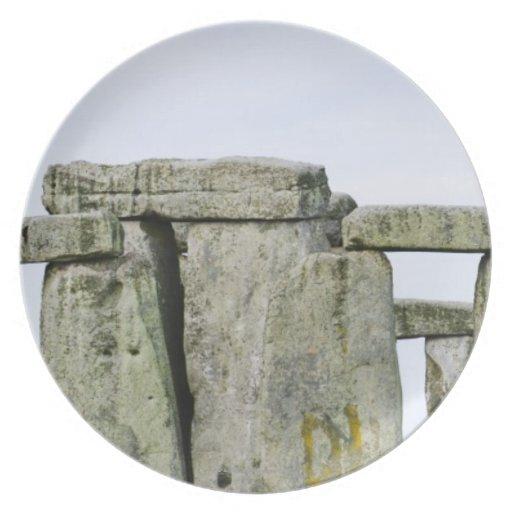 United Kingdom, Stonehenge 4 Dinner Plate