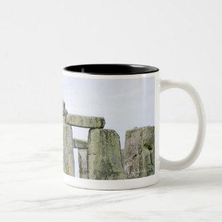 United Kingdom, Stonehenge 4 Two-Tone Coffee Mug