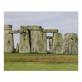 United Kingdom, Stonehenge 6 Poster
