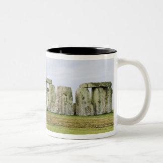 United Kingdom, Stonehenge 6 Two-Tone Coffee Mug