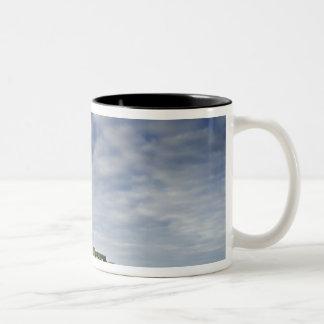 United Kingdom, Stonehenge 8 Two-Tone Coffee Mug