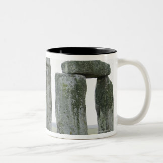 United Kingdom, Stonehenge 9 Two-Tone Coffee Mug