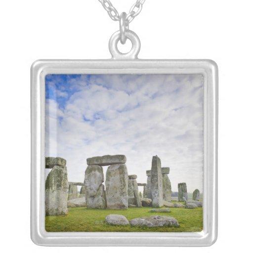 United Kingdom, Stonehenge Personalized Necklace