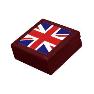 United Kingdom The Union Jack flag Keepsake Box