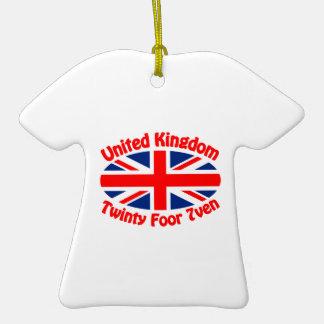 United Kingdom - Twinty Foor 7ven Christmas Tree Ornament