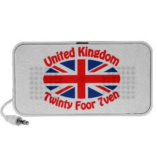 United Kingdom - Twinty Foor 7ven Notebook Speakers
