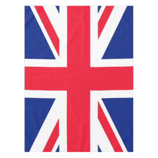 United Kingdom UK British Union Jack Flag Tablecloth