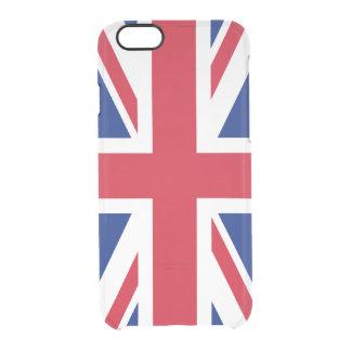 United Kingdom UK Union Jack Flag Britain Uncommon Clearly™ Deflector iPhone 6 Case
