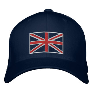 United Kingdom Union Jack Flag Hat (Blue)